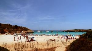 La plage de Cala Barques