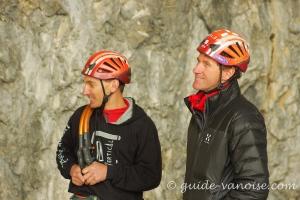 Jeff Mercier et Christophe Moulin