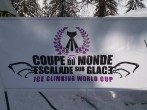 Coupe du monde d'escalade sur glace, France