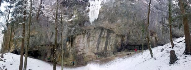 La falaise d'Eptingen