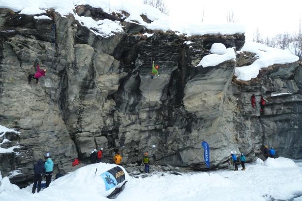 Le site de dry-tooling du canyon de l'Ecot