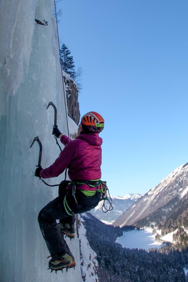 Un beau mur de glace pour L4