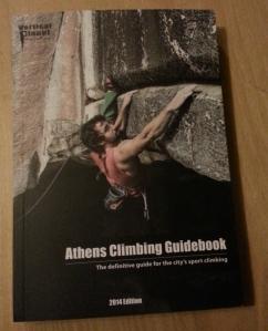 Athens climbing guidebook