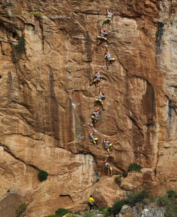 Chaos cliff, Antonis in Tremoulo, 7c+