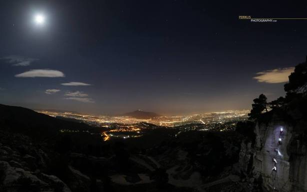Daveli cliff above Athens (facebook.com/PERIKLISPHOTOGRAPHY)