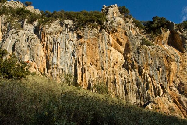 Alepochori wall