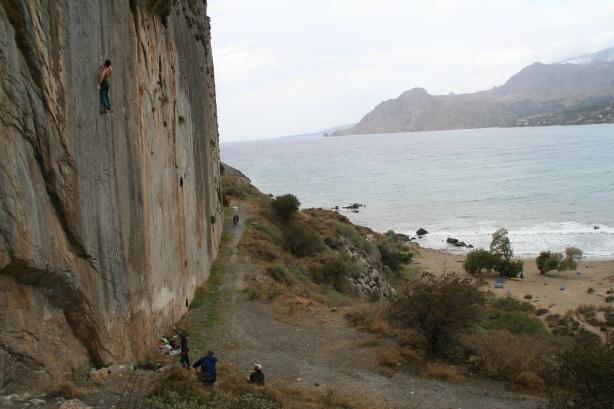 Plakias climbing