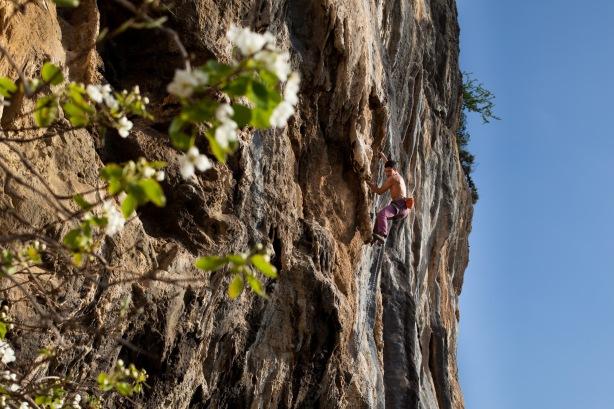 Alepochori climbing