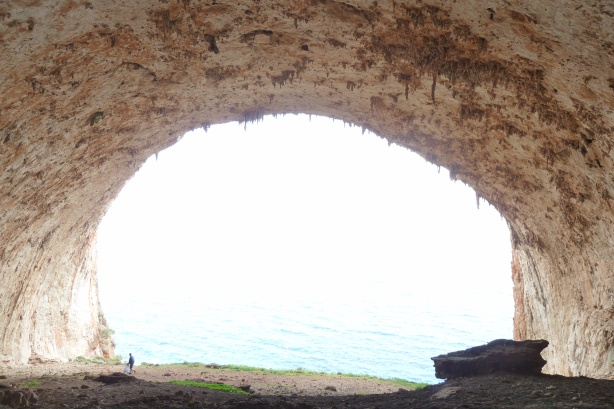 Tersanas cave (view from inside...)