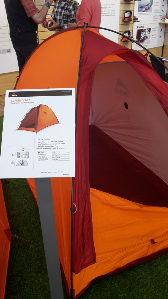 advance pro 2 alpine tent msr