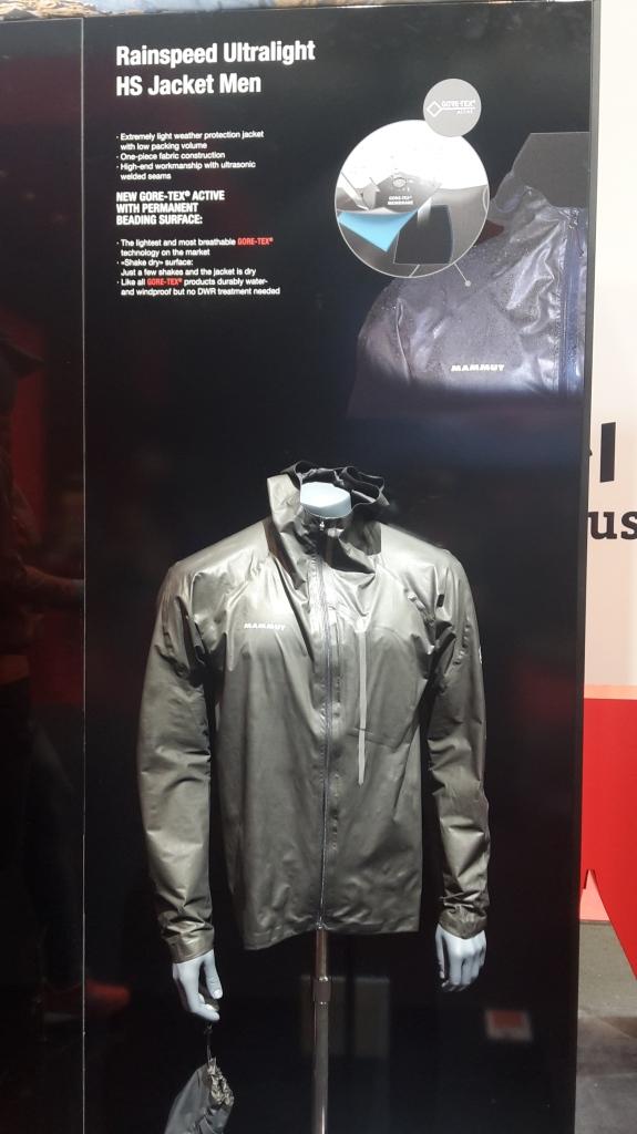 goretex active jacket mammut